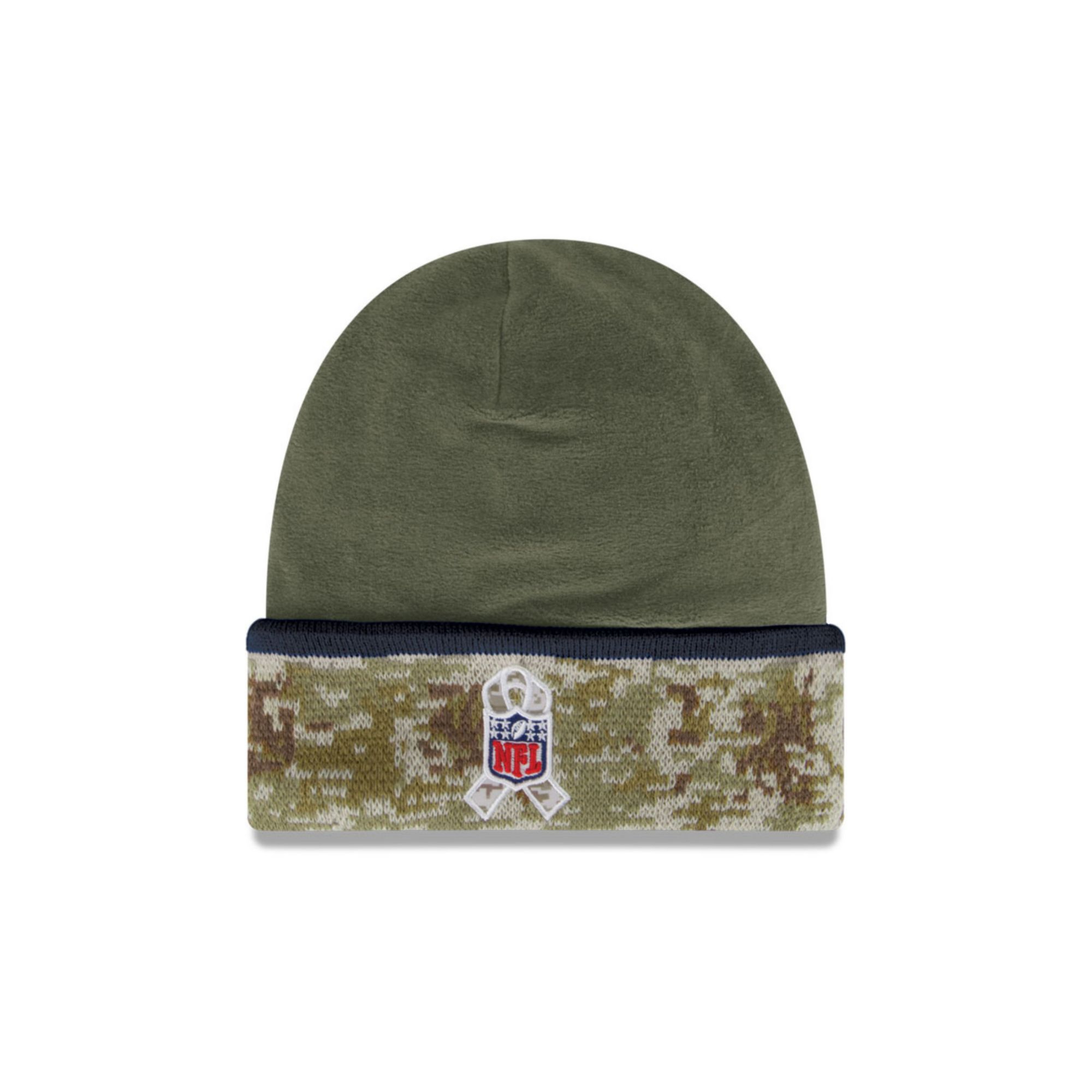 Lyst - KTZ Dallas Cowboys Salute To Service Knit Hat in Green for Men 86a6628ac