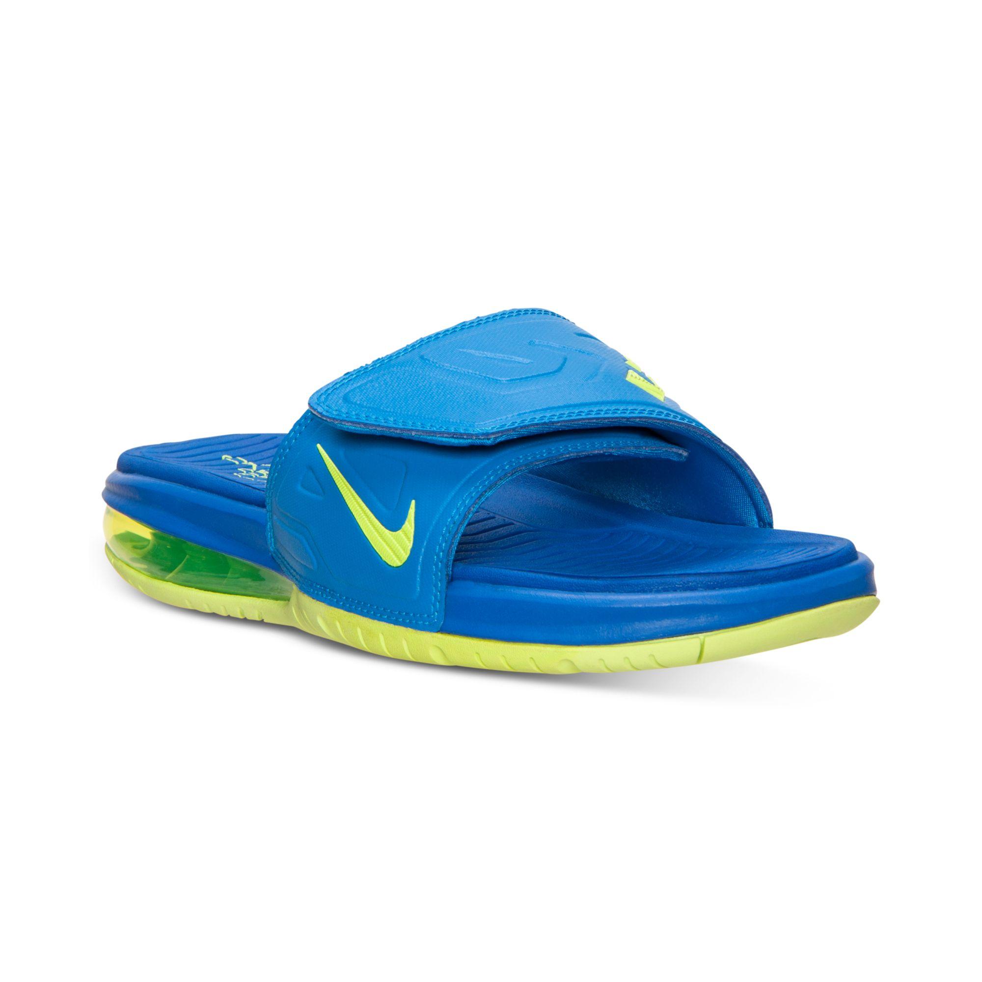 online store 8e7f0 9ab2f nike air lebron 3 slide elite mens flip flops