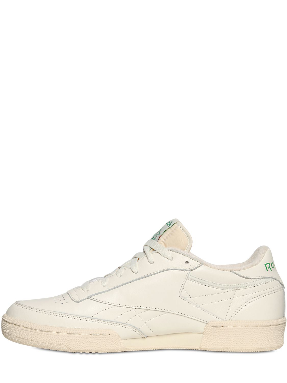 0d5ea8fa73e686 Lyst - Reebok Club C 85 Vintage Leather Low-Top Sneakers in White ...