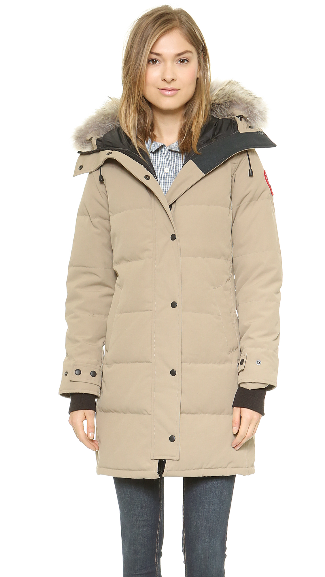 canada goose parka weight