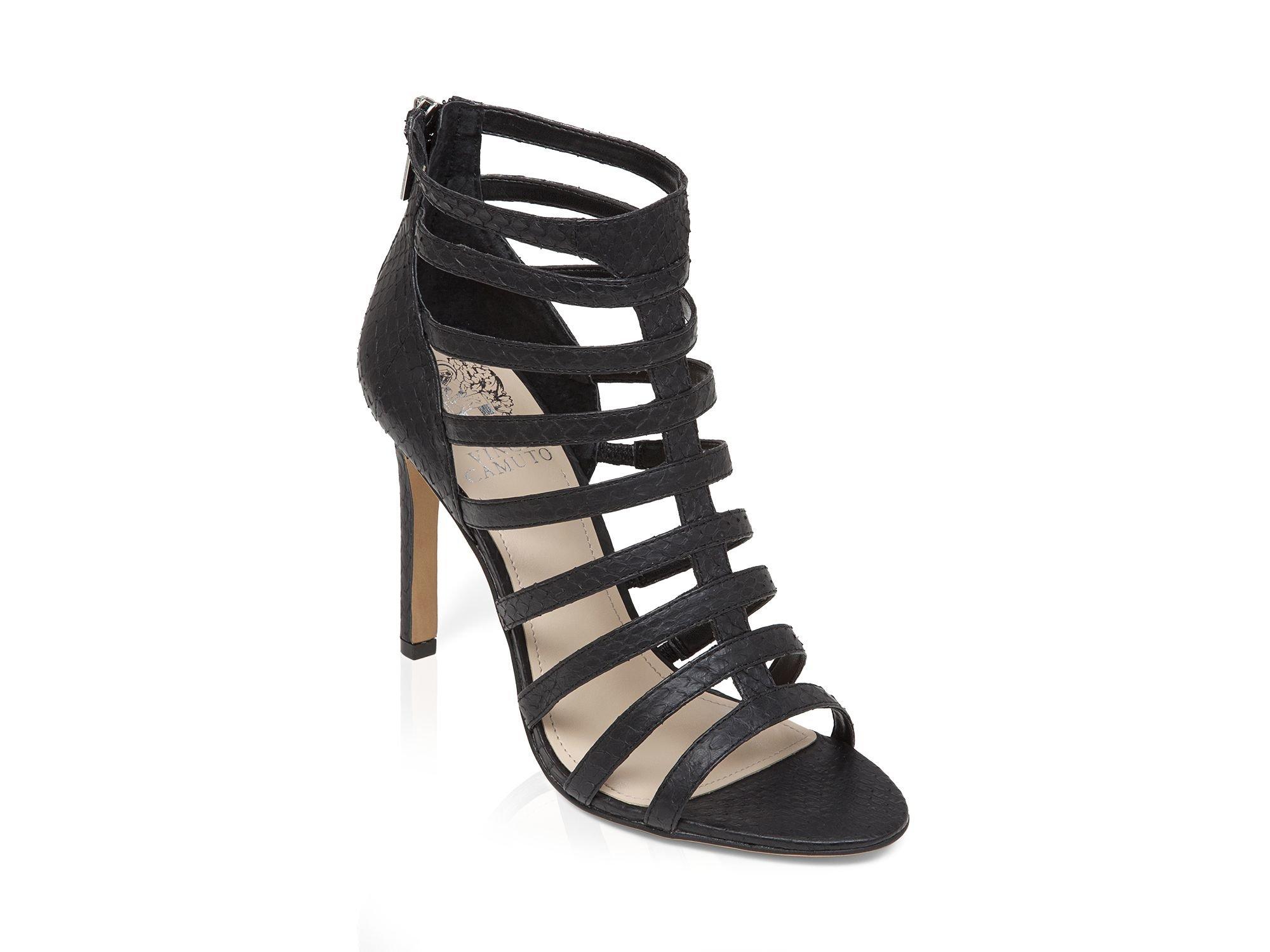 96797d09d8 Vince Camuto Open Toe Caged Gladiator Sandals - Kamella High Heel in ...