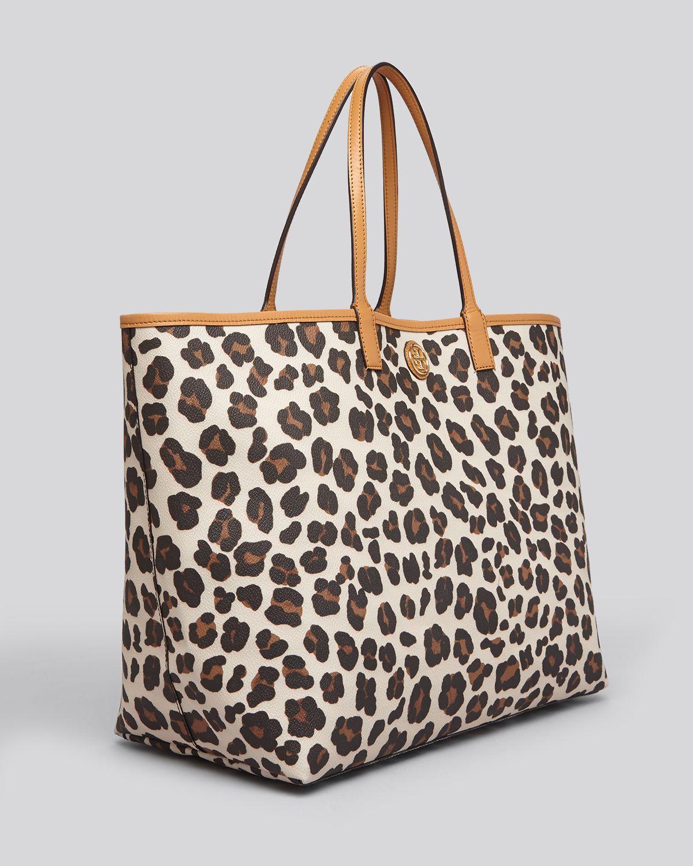 86e9576cb23c Tory Burch Kerrington Leopard-Print Tote - Lyst