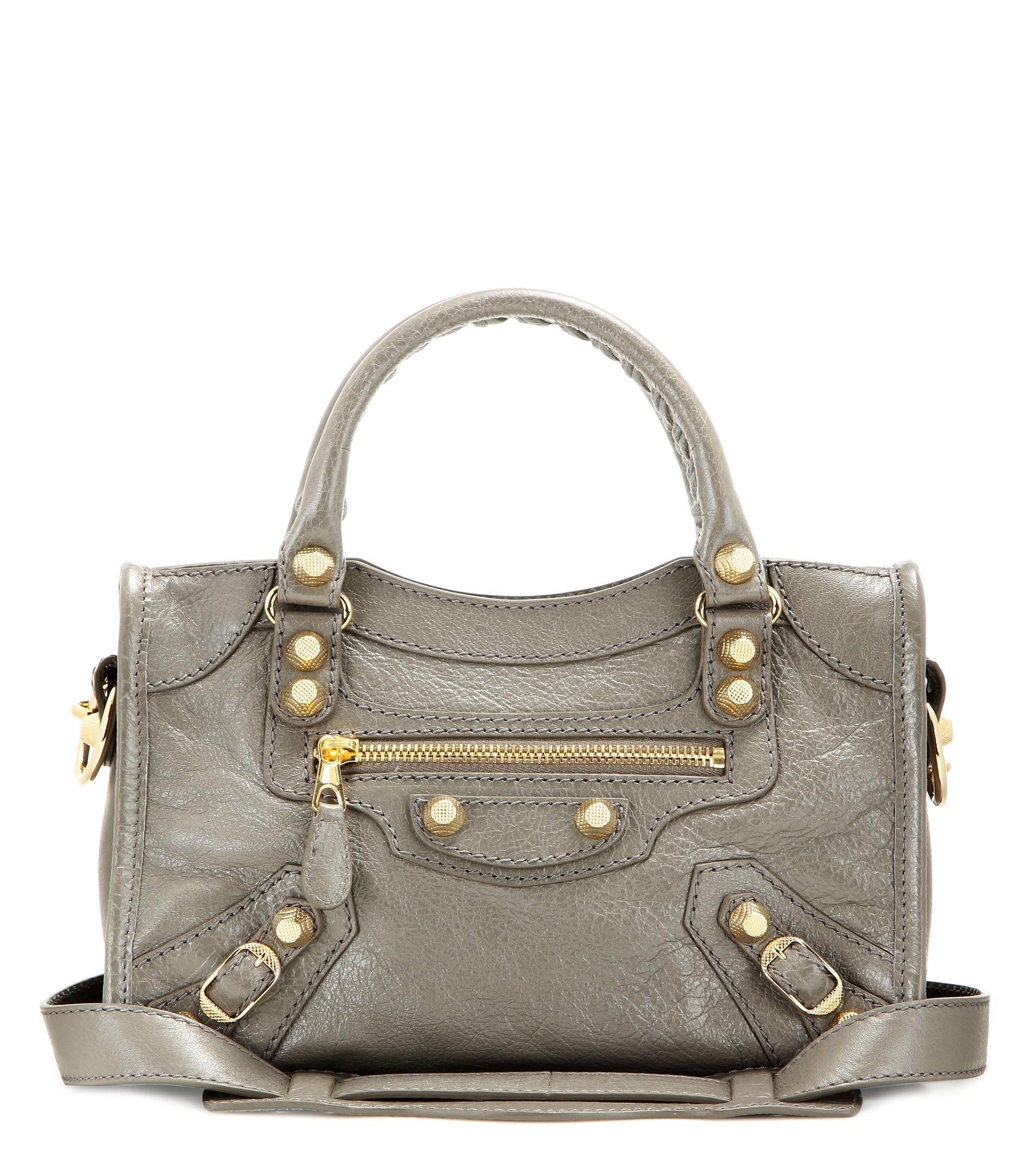 Balenciaga Giant 12 Gold Mini City Bag