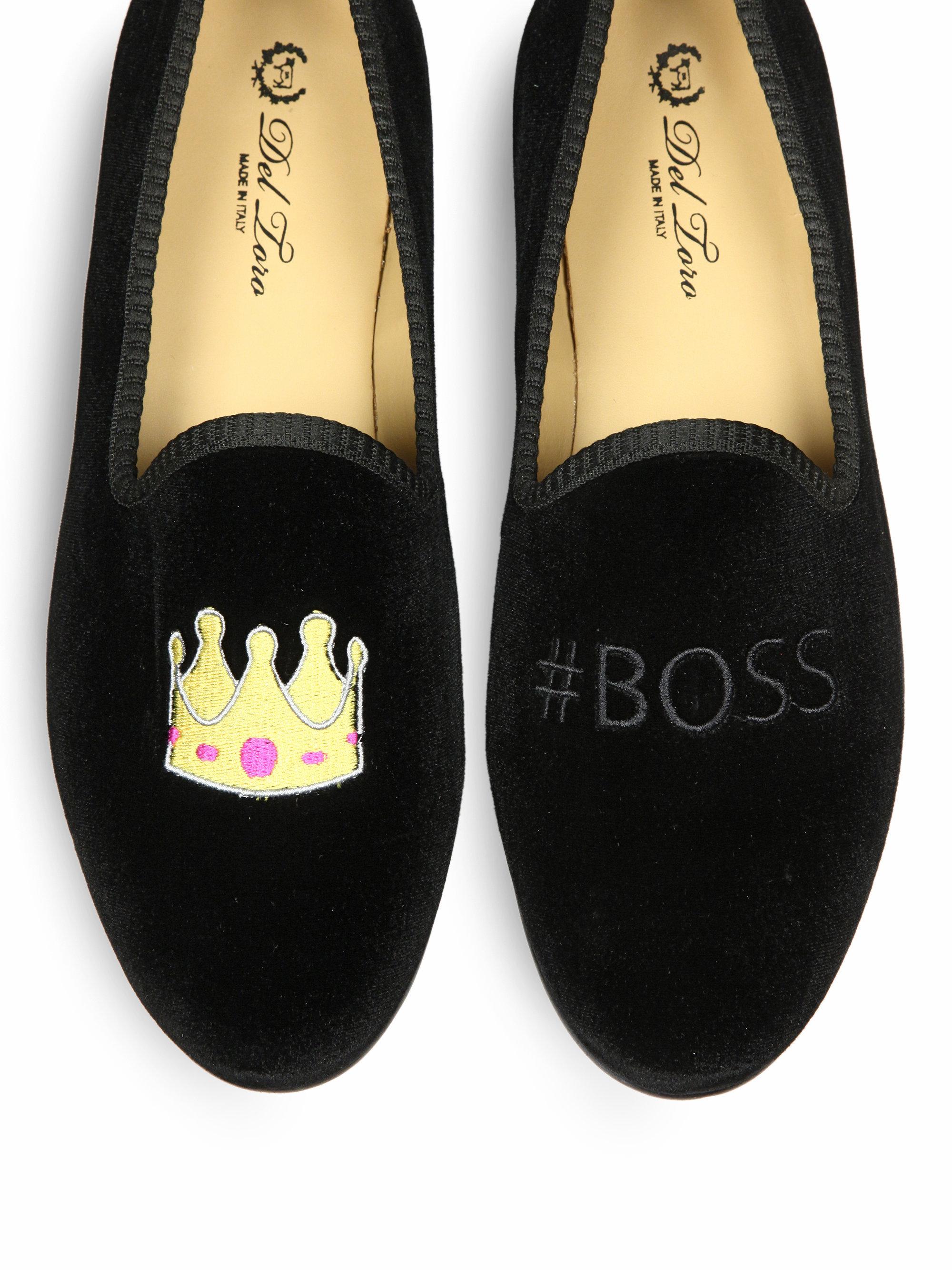 eff35886c18 Lyst del toro crown boss slippers in black for men jpg 2000x2667 Del toro  loafers