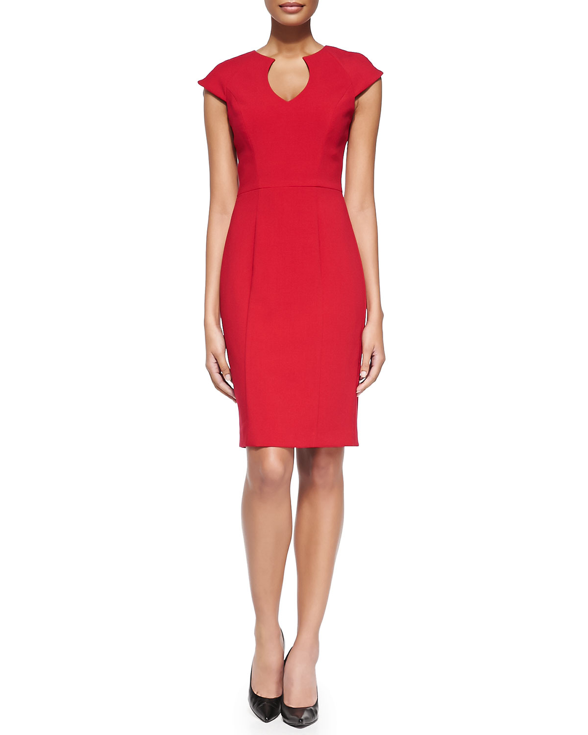 Black Halo fitted dress Cheap Sale 2018 Unisex brgHz