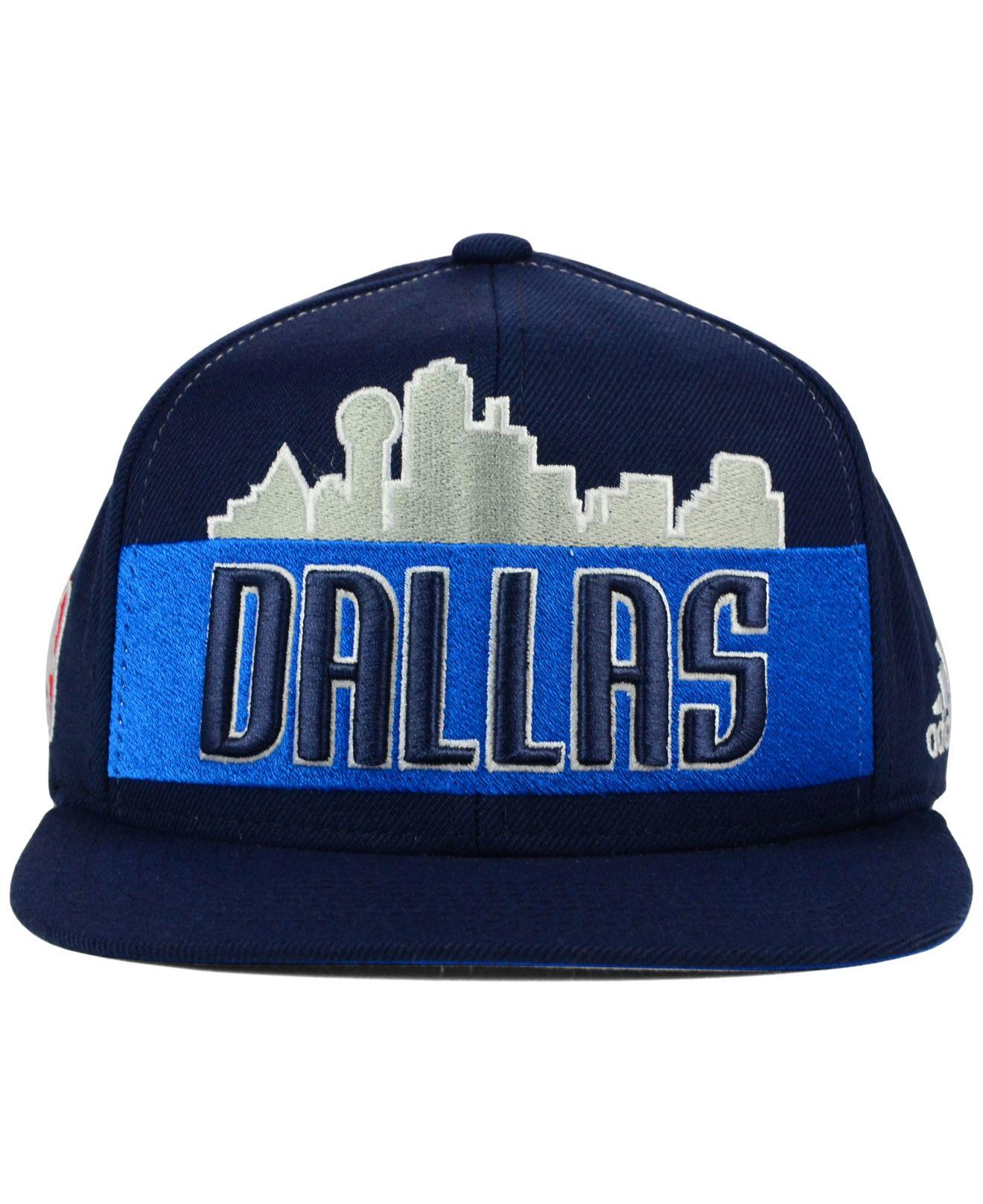meet 93612 4d5a6 Men's Blue Dallas Mavericks Alternate Jersey Snapback Cap