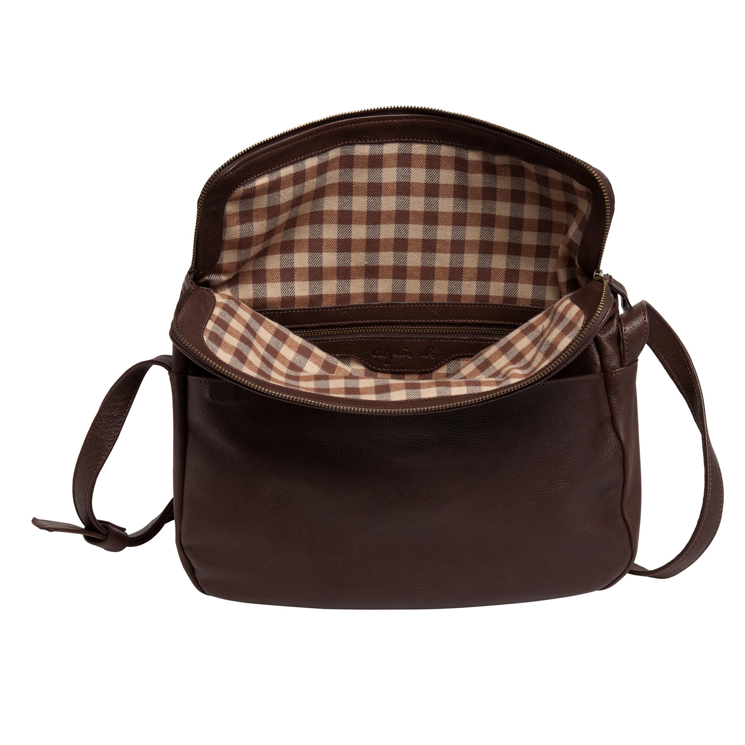 aa7181558a05 agnès b. Brown Bag Amelia in Brown - Lyst