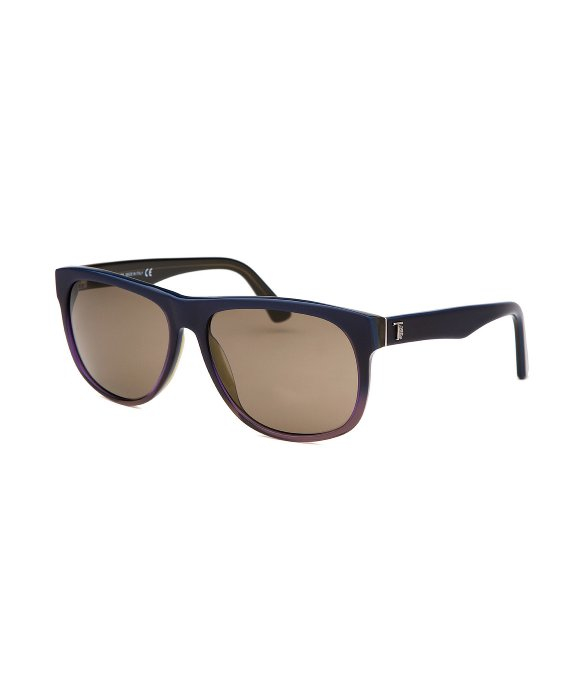 Tods Mens Sunglasses  tod s men s square navy blue sunglasses in blue for men lyst