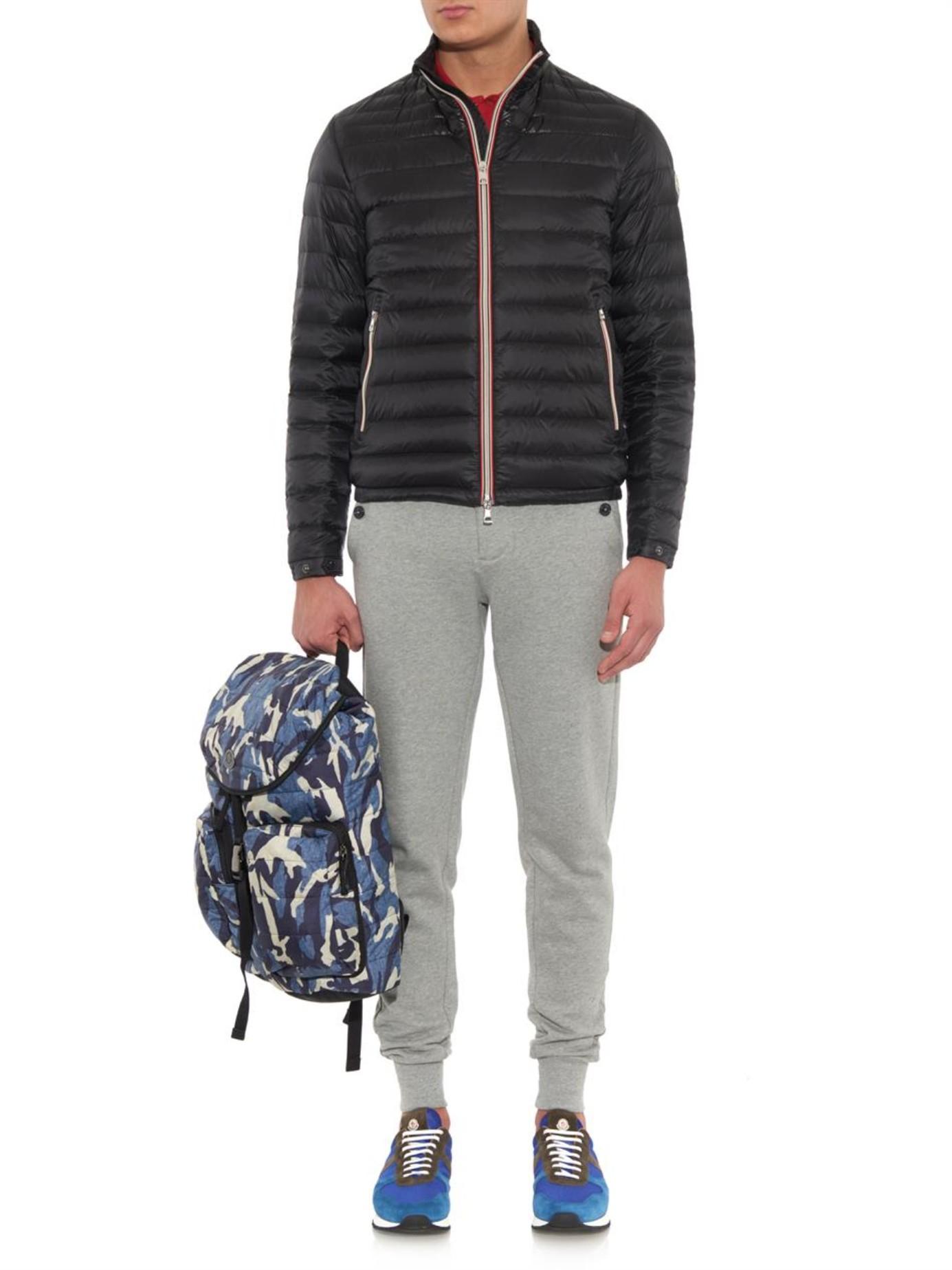 moncler black down daniel jacket