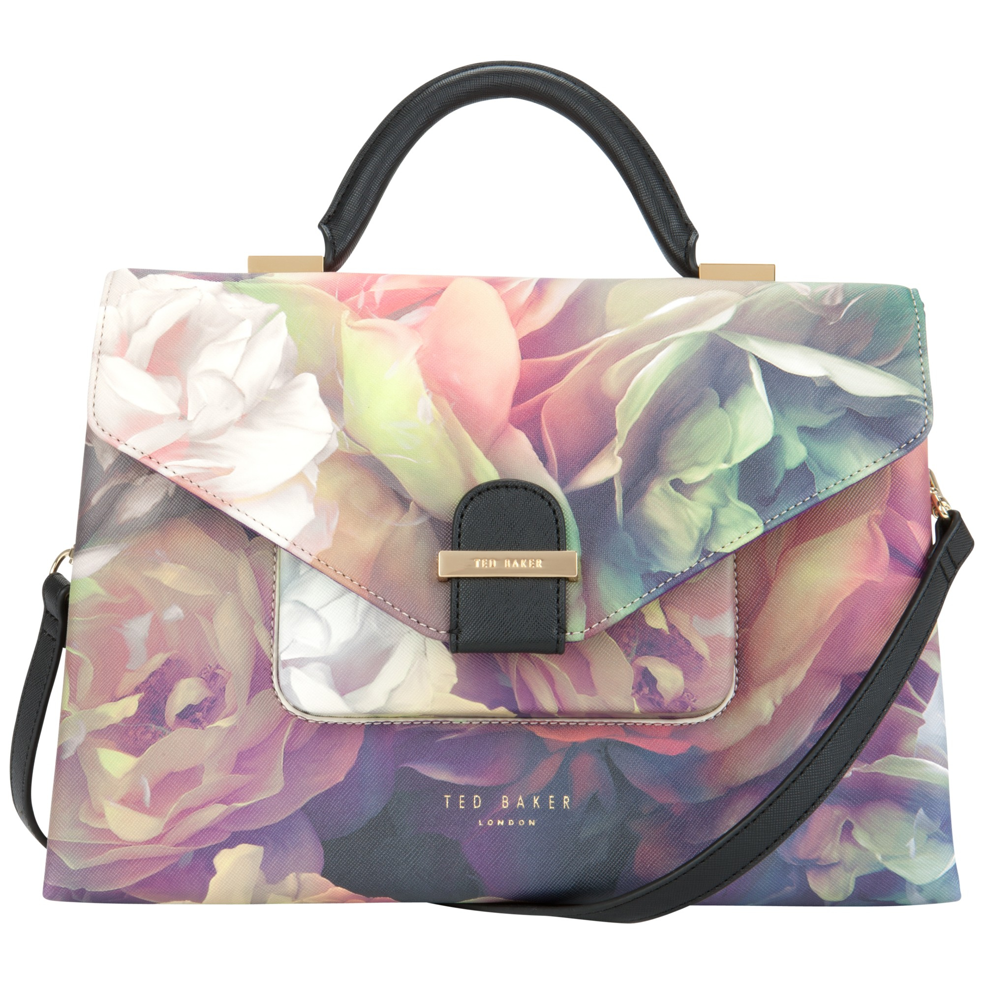 6efed1393f4a52 John Lewis Ted Baker Zetaa Exotic Small Tote Bag In Black Lyst