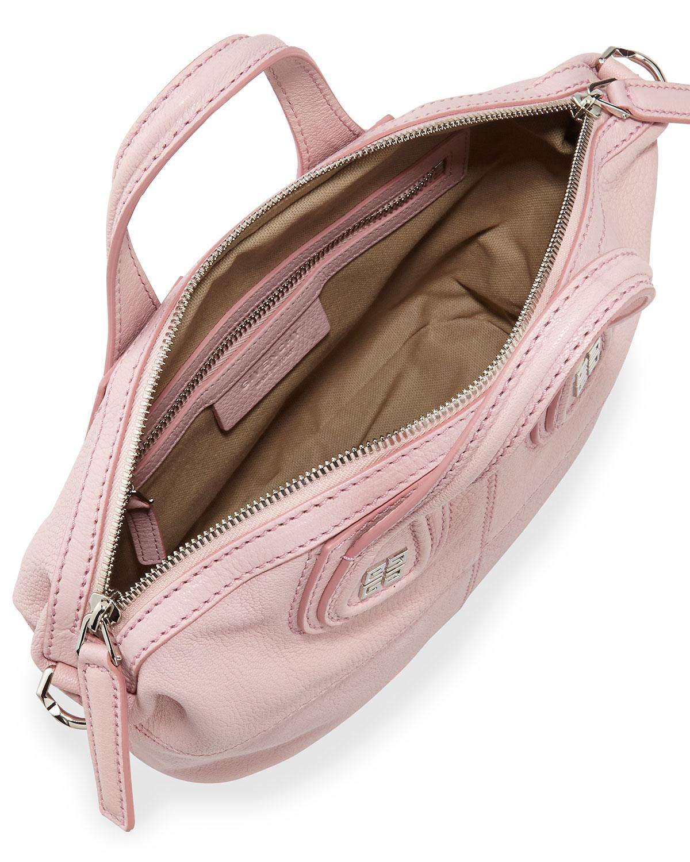 8e0902ebb6c9 Lyst - Givenchy Nightingale Mini Sugar Crossbody Bag Light Pink in Pink
