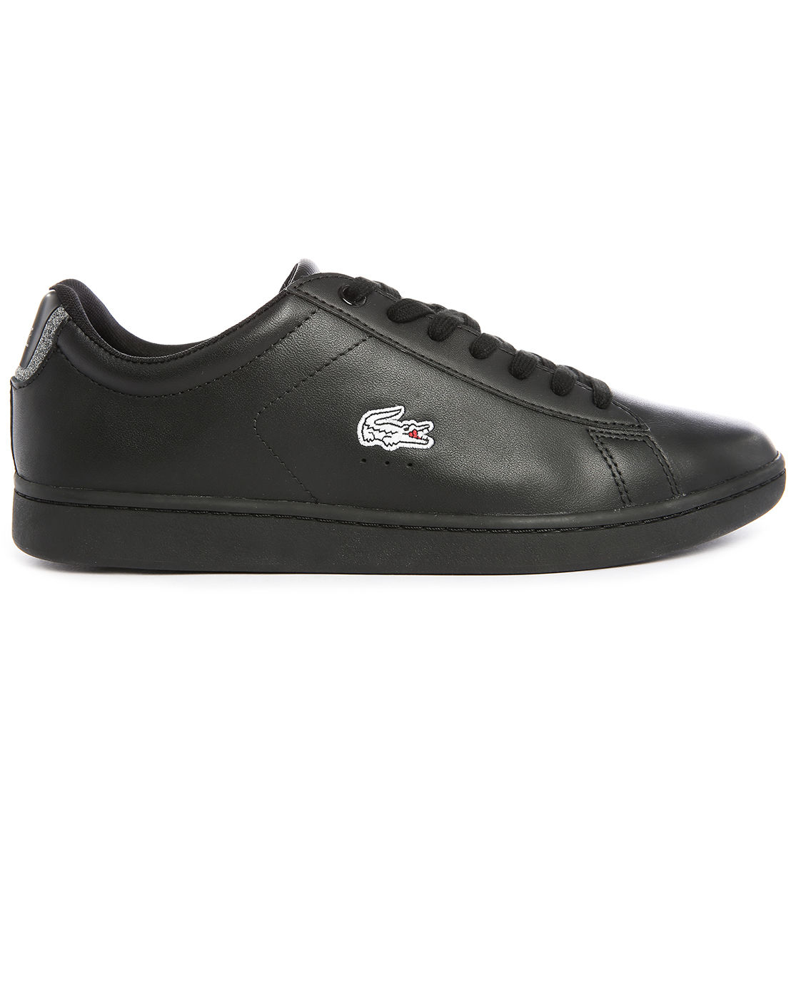 Black Low Top Polo Shoes