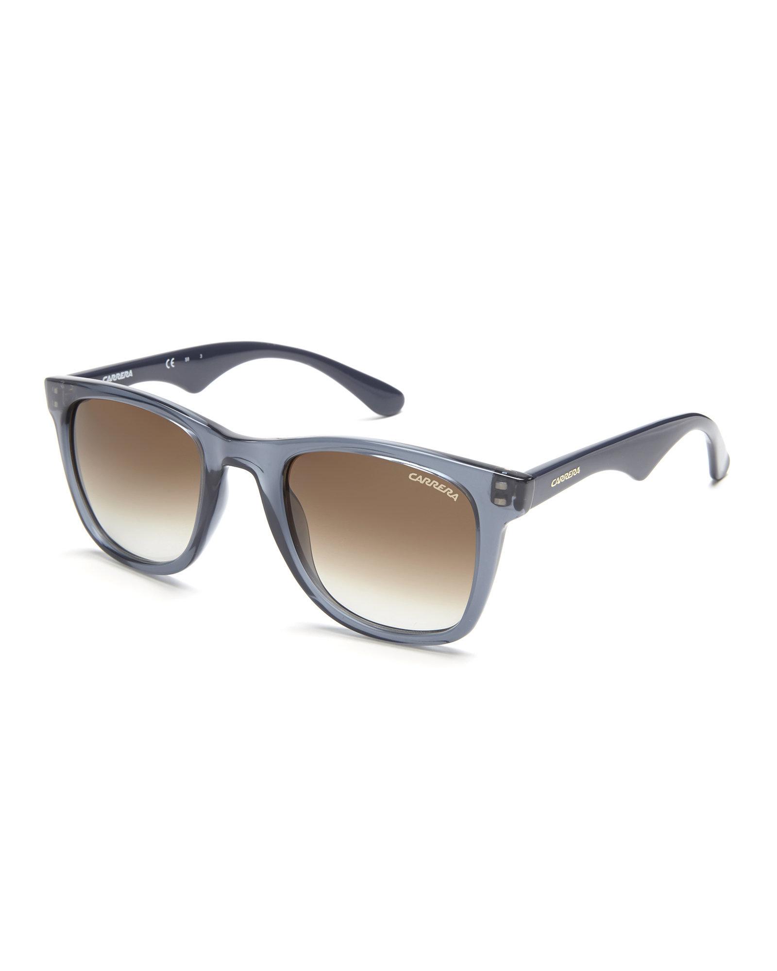 1abe246f22 Lyst - Carrera 6000 L S Blue Wayfarer Sunglasses in Blue for Men