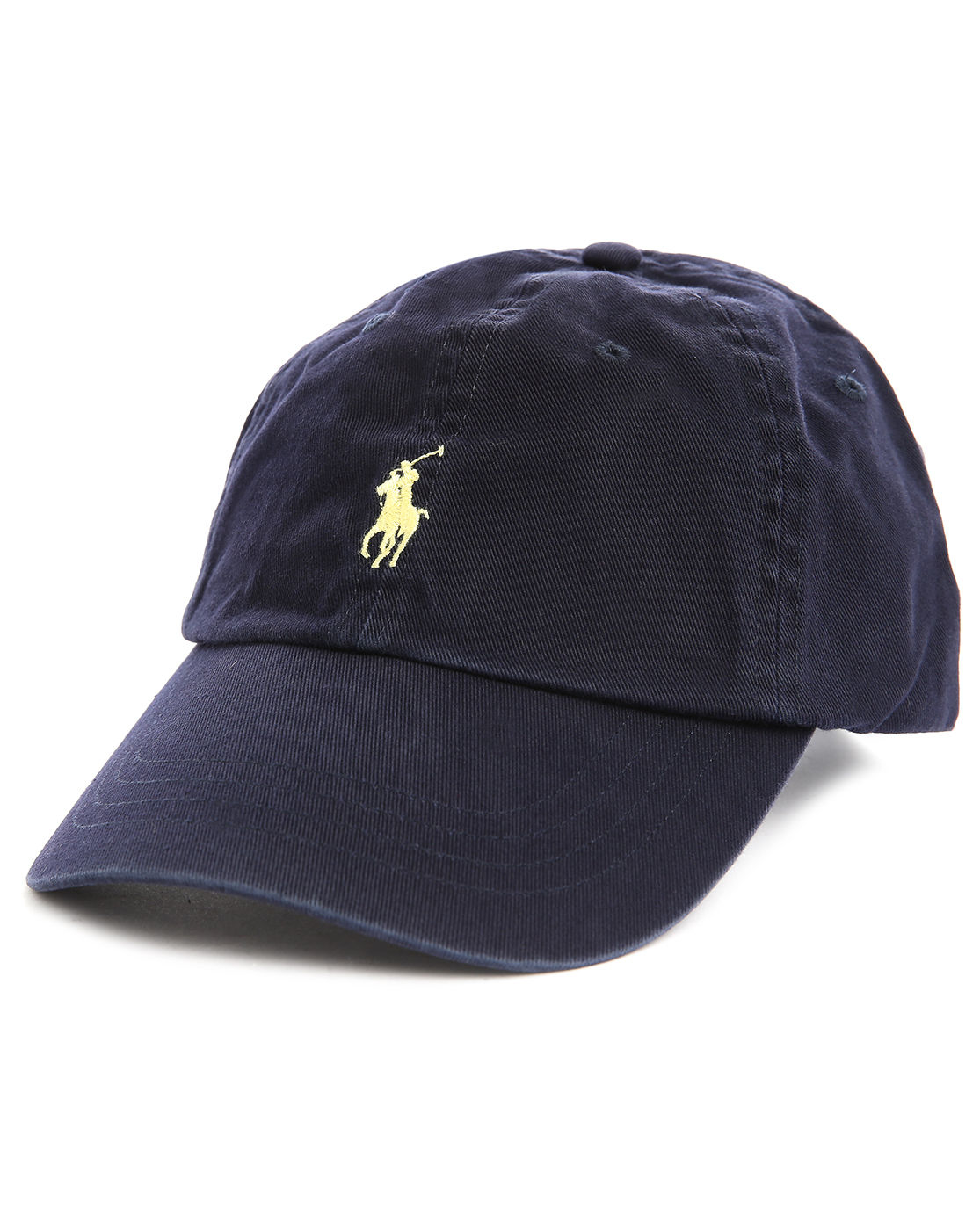 polo ralph lauren navy blue classic sport cap in blue for. Black Bedroom Furniture Sets. Home Design Ideas