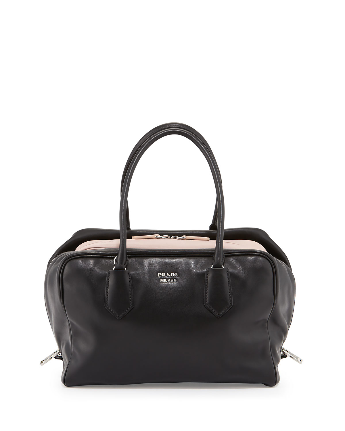 prada handbags usa sale - Prada Large Soft Calf Inside Bag in Black | Lyst