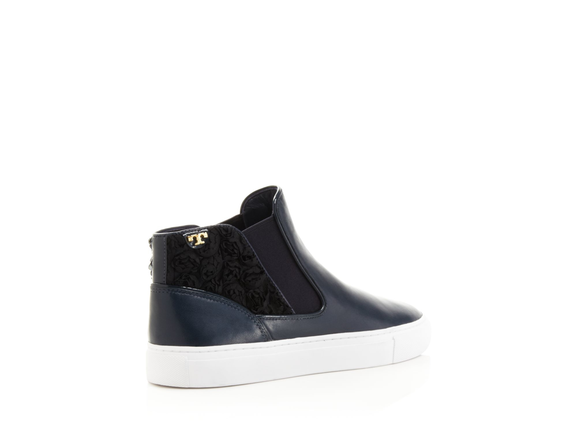 Tory Burch High-Top Slip-On Sneakers discount largest supplier u0rc4e