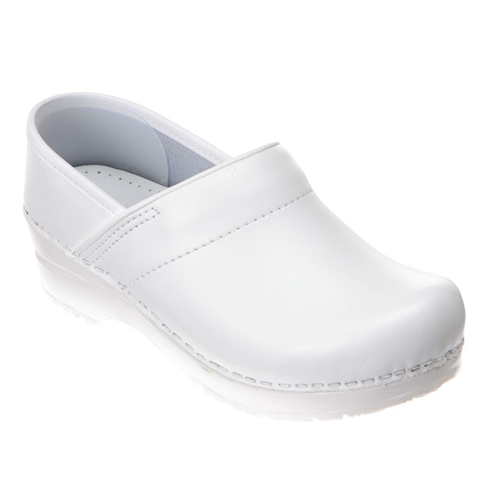 dansko professional in white for lyst
