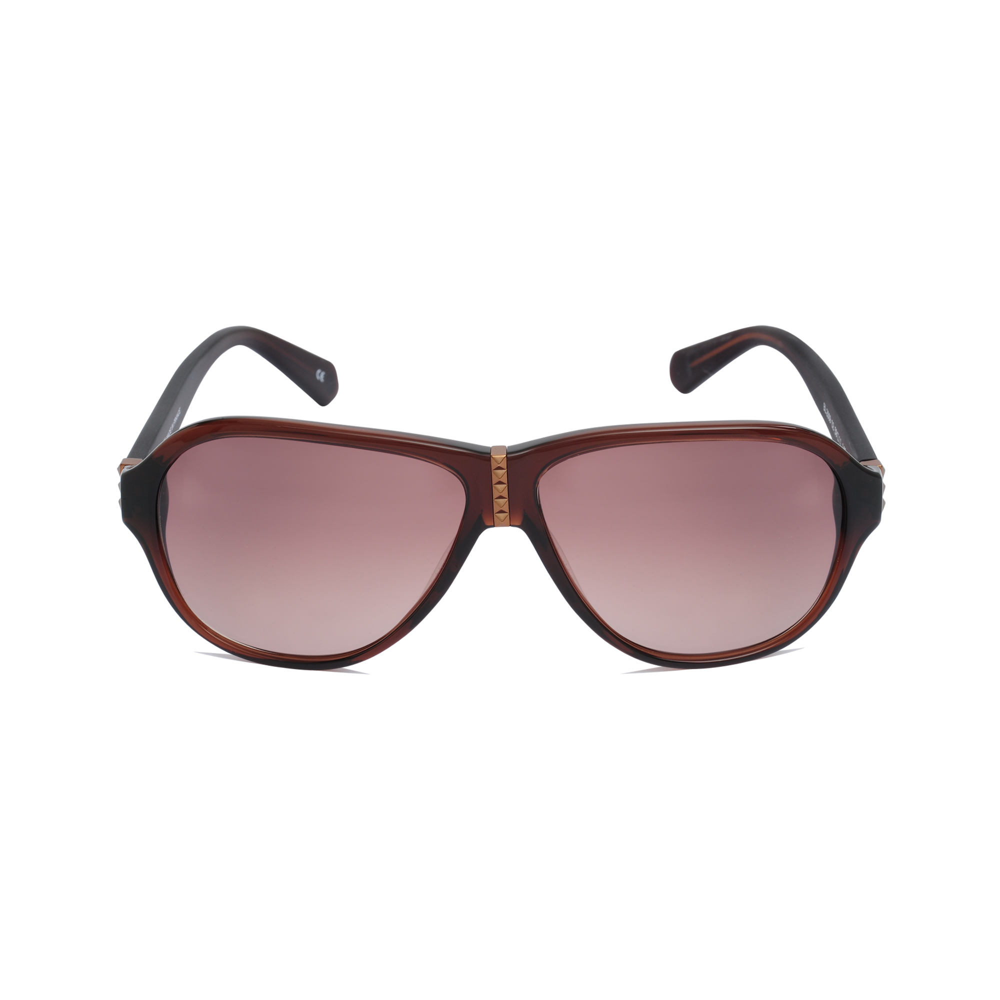 Balmain Bl2009 Studs Pilot Sunglasses in Purple
