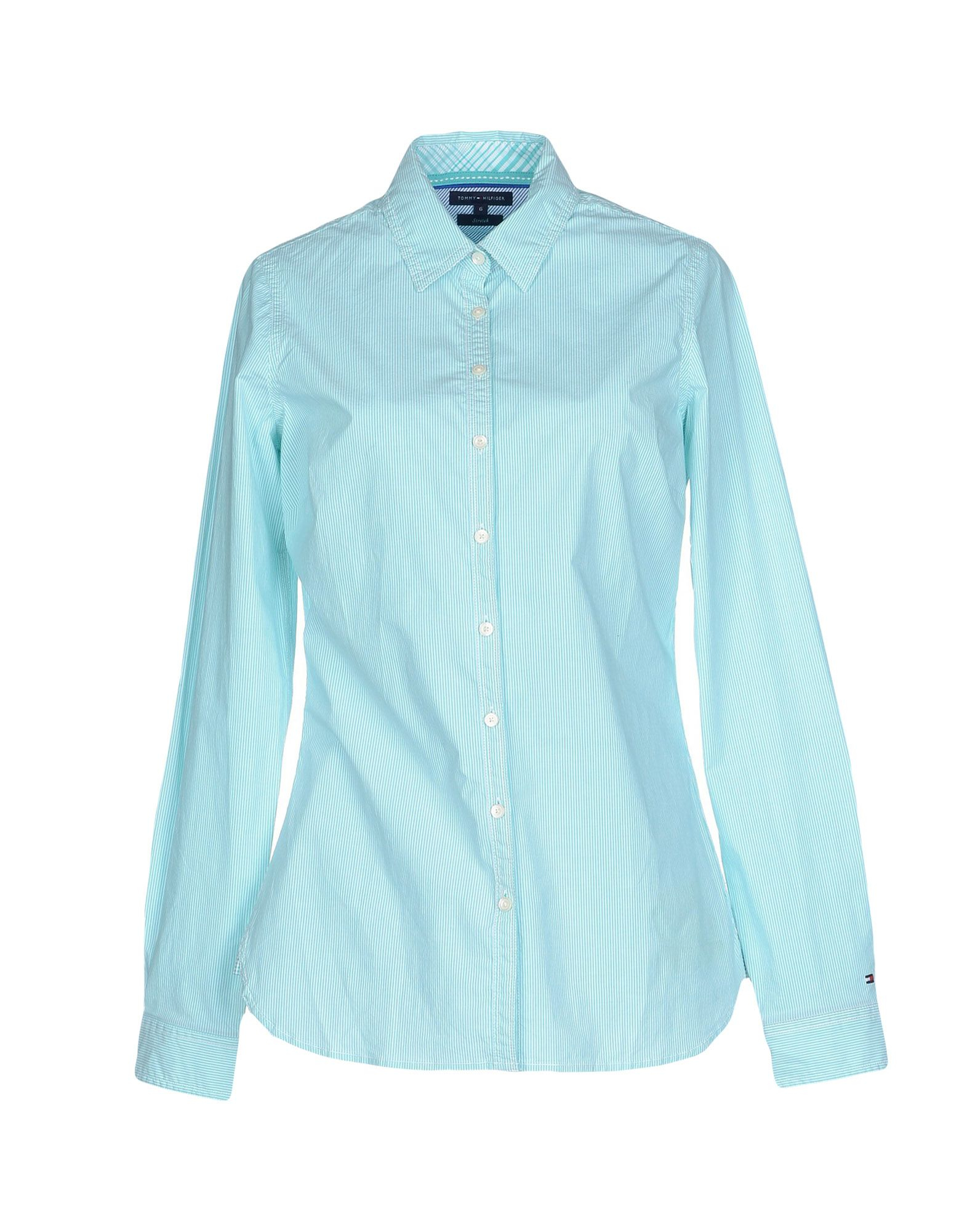 Lyst - Tommy hilfiger Shirt in Blue