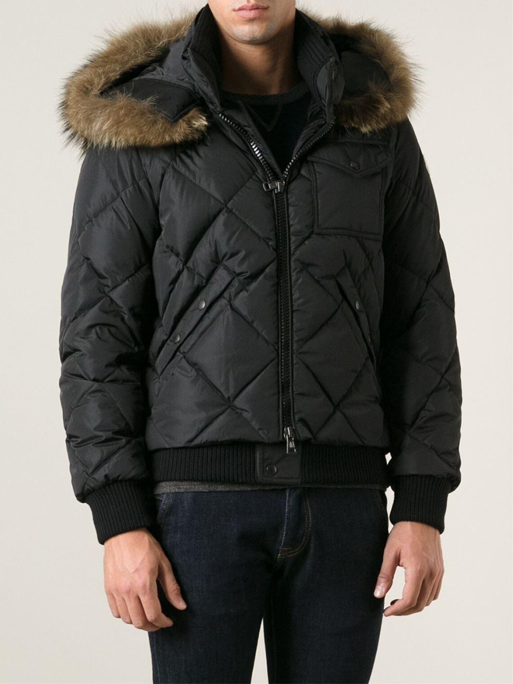 7953bd7a8 Moncler Harrison Padded Jacket in Black for Men - Lyst