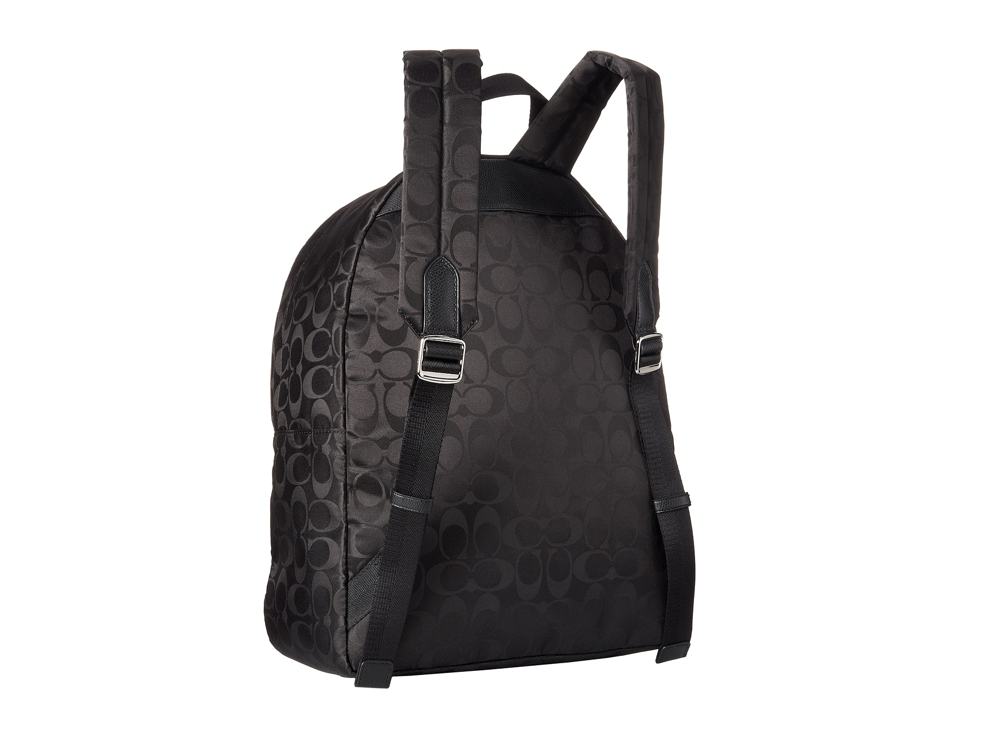Coach Nylon Small Backpack In Black Lyst