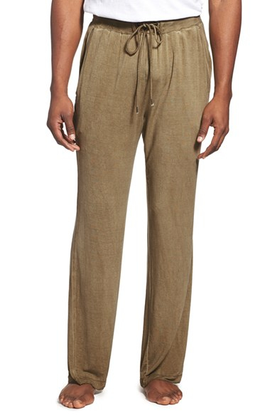Lyst Daniel Buchler Lounge Pants In Green For Men