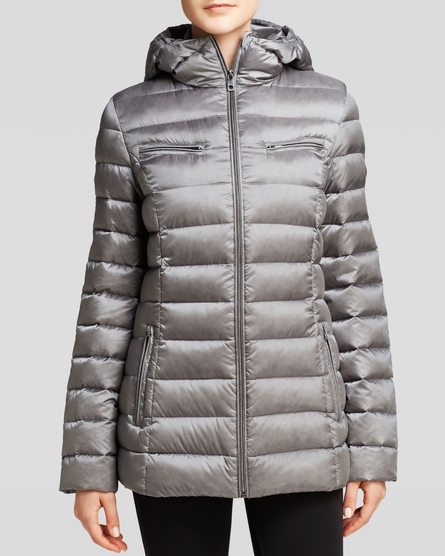 Lyst Cole Haan Down Jacket Lightweight Packable In Gray