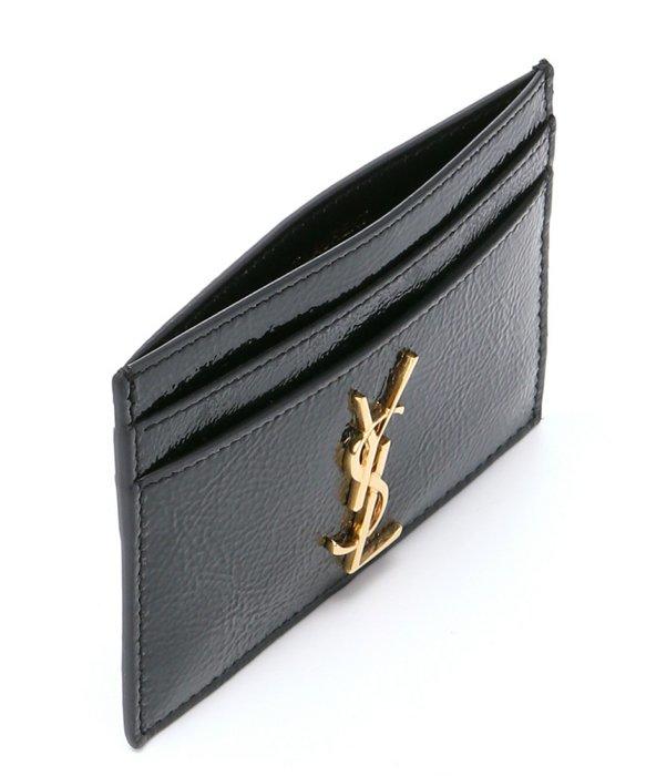 la del Saint negro tarjeta de Titular monograma Laurent tS46nx