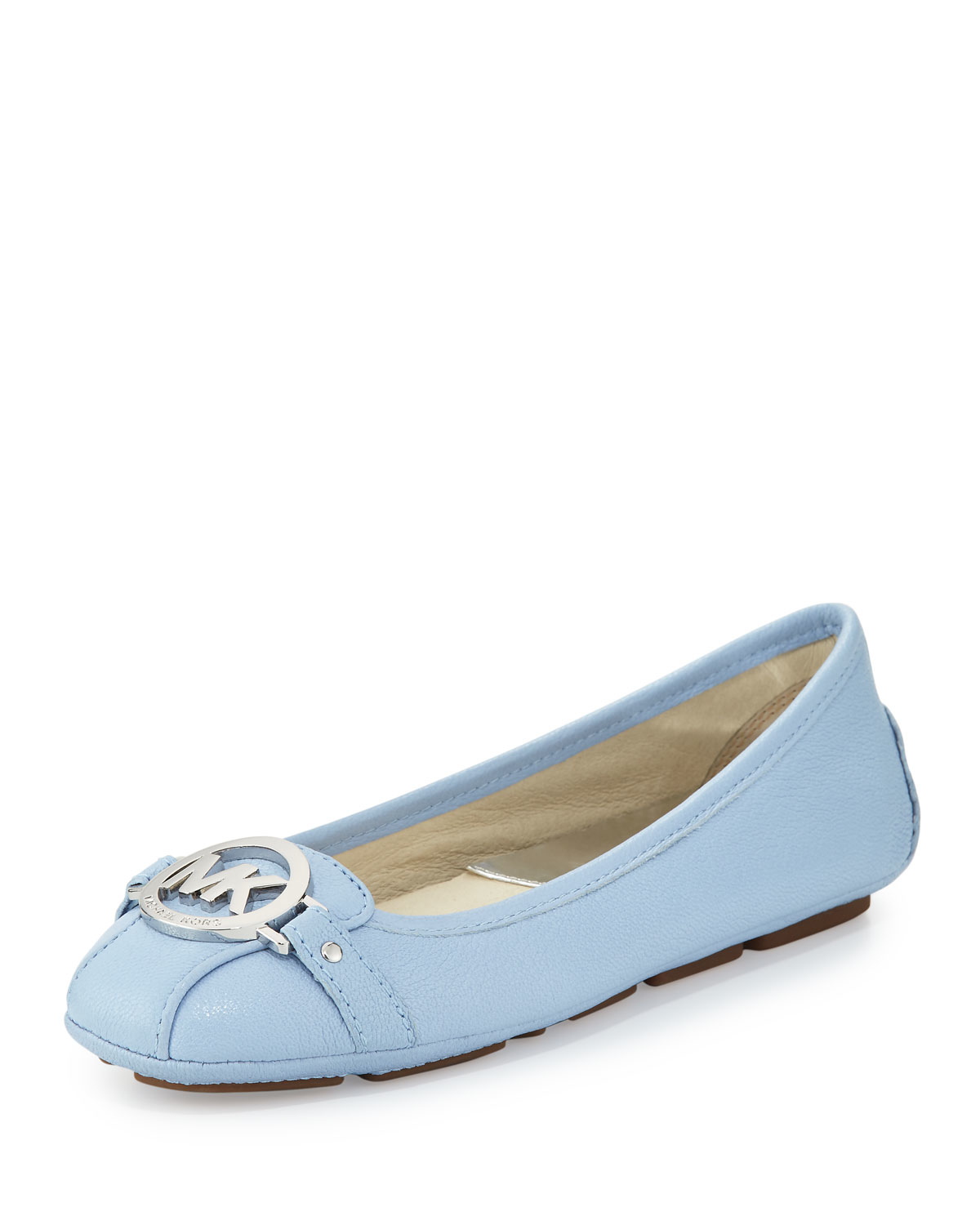 97fb8aebd8f2 Lyst - MICHAEL Michael Kors Fulton Tumbled Leather Moccasin in Blue