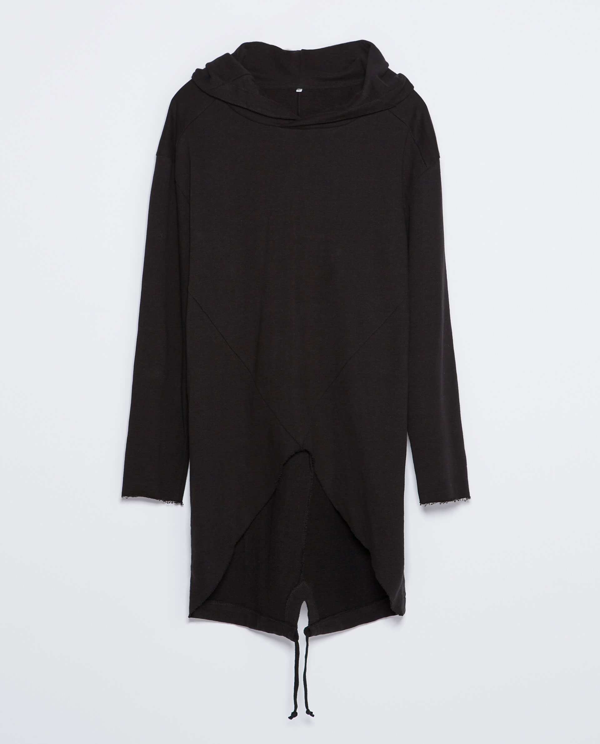 zara collection cape in black for men lyst. Black Bedroom Furniture Sets. Home Design Ideas