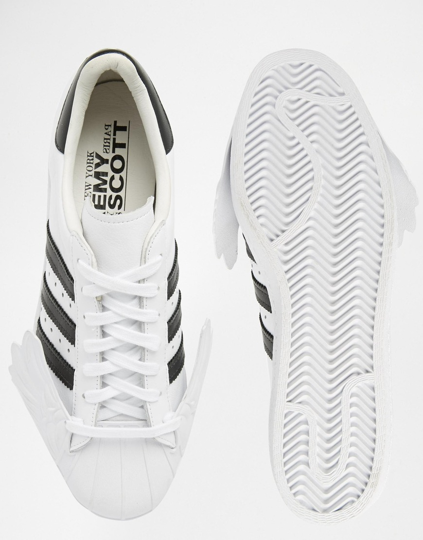 a9c363b22ff4 Lyst - Jeremy Scott for adidas Originals By Jeremy Scott Superstar ...