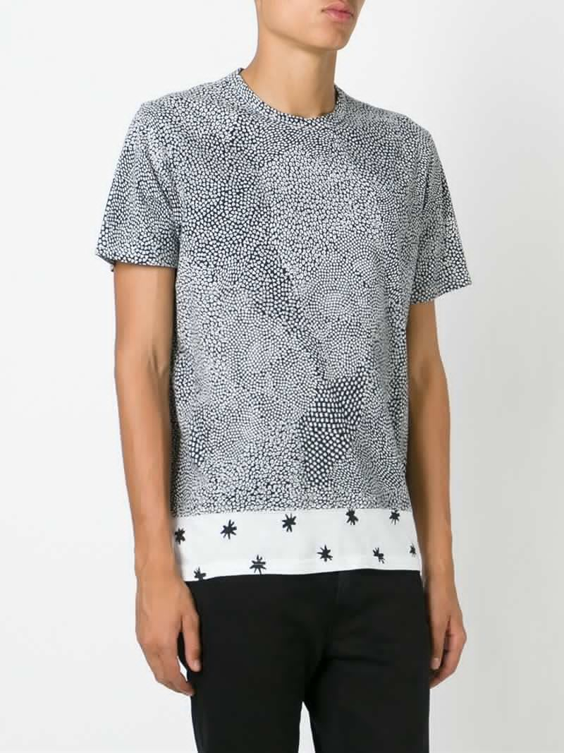 Lyst paul smith all over print t shirt in black for men for All over printing t shirts