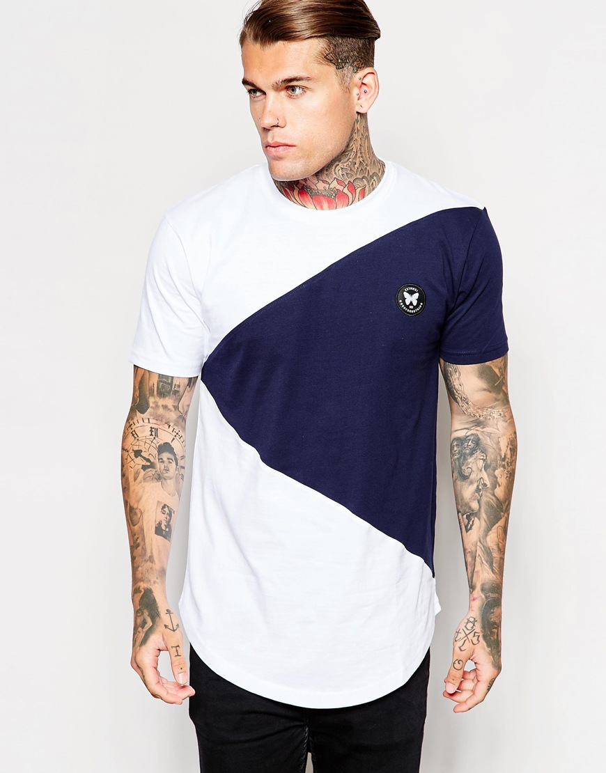 Lyst - Good For Nothing T-shirt With Curved Hem Exclusive To Asos in ... 064e11d06bf