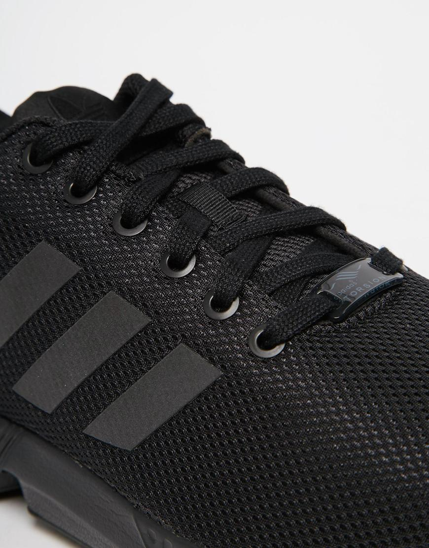 2e0ea a42c7  low price adidas originals zx flux trainers s79093 in black  for men lyst 33391 f33ba 723bee0f6