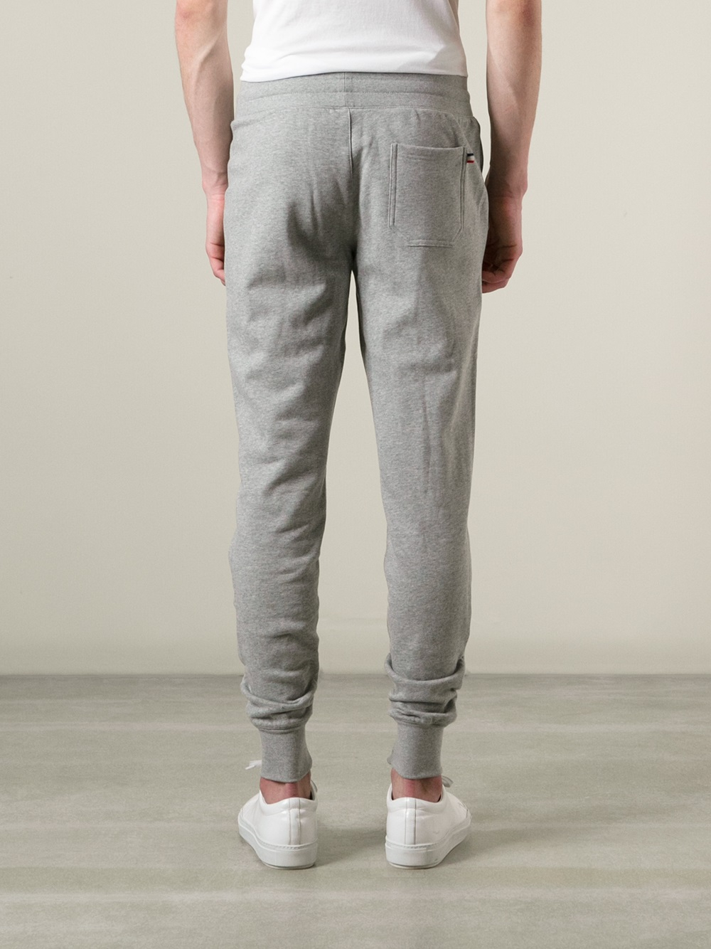 dfdefbf54 Lyst - Moncler Tapered Track Pants in Gray for Men