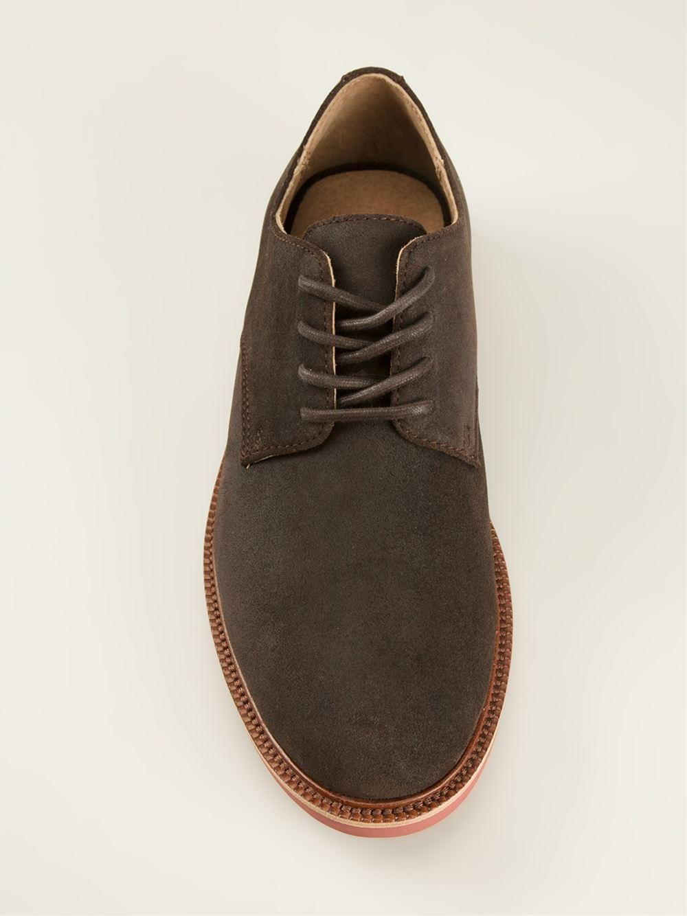 Men For Lauren Shoes Derby Brown Torrington Ralph Lyst Polo In rCtsQhd