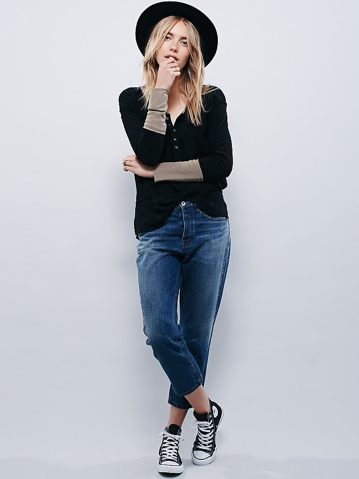 Clothes Ringer 2015 ~ Free people we the womens ringer henley