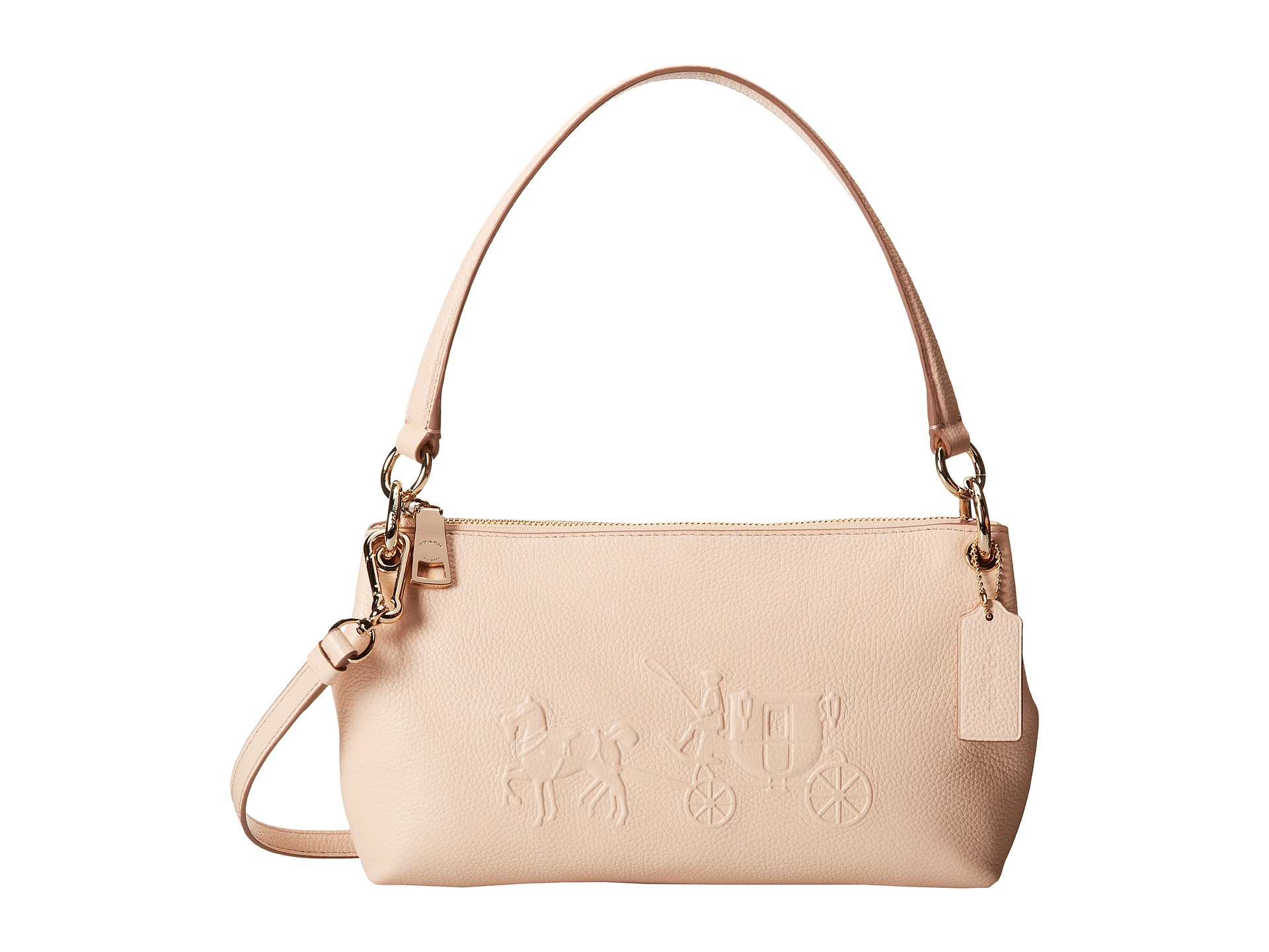 5cd7d8558159 ... new zealand lyst coach embsd horse and carriage charley crossbody in  natural e0fb1 f44e7