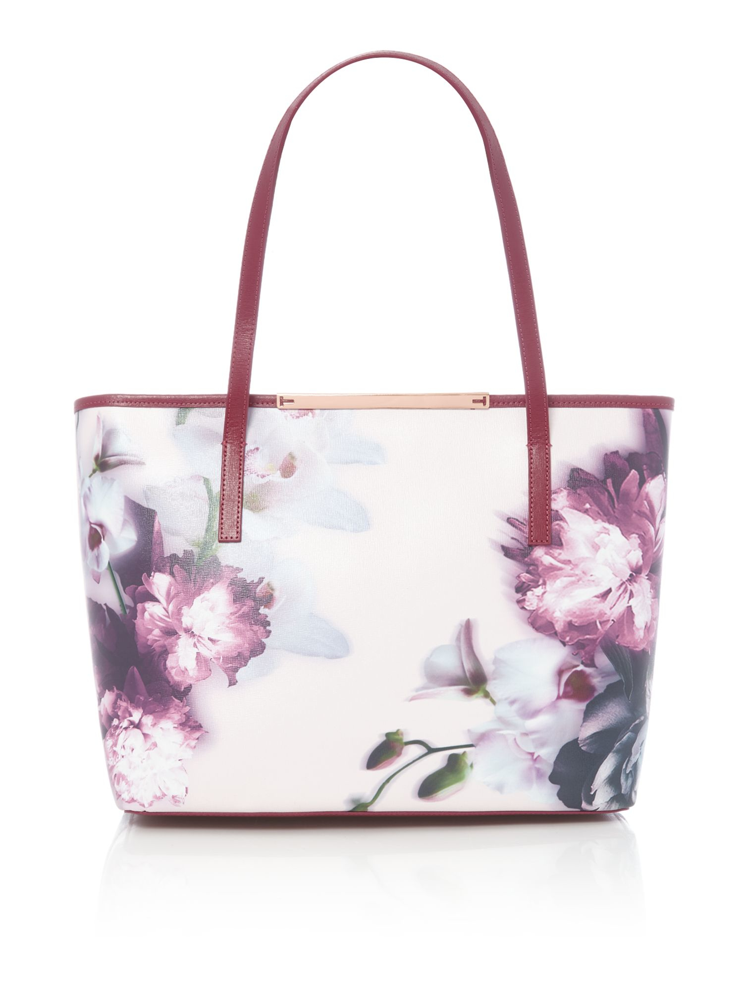 Ted Baker Lietta Pink Floral Large Tote Bag Lyst