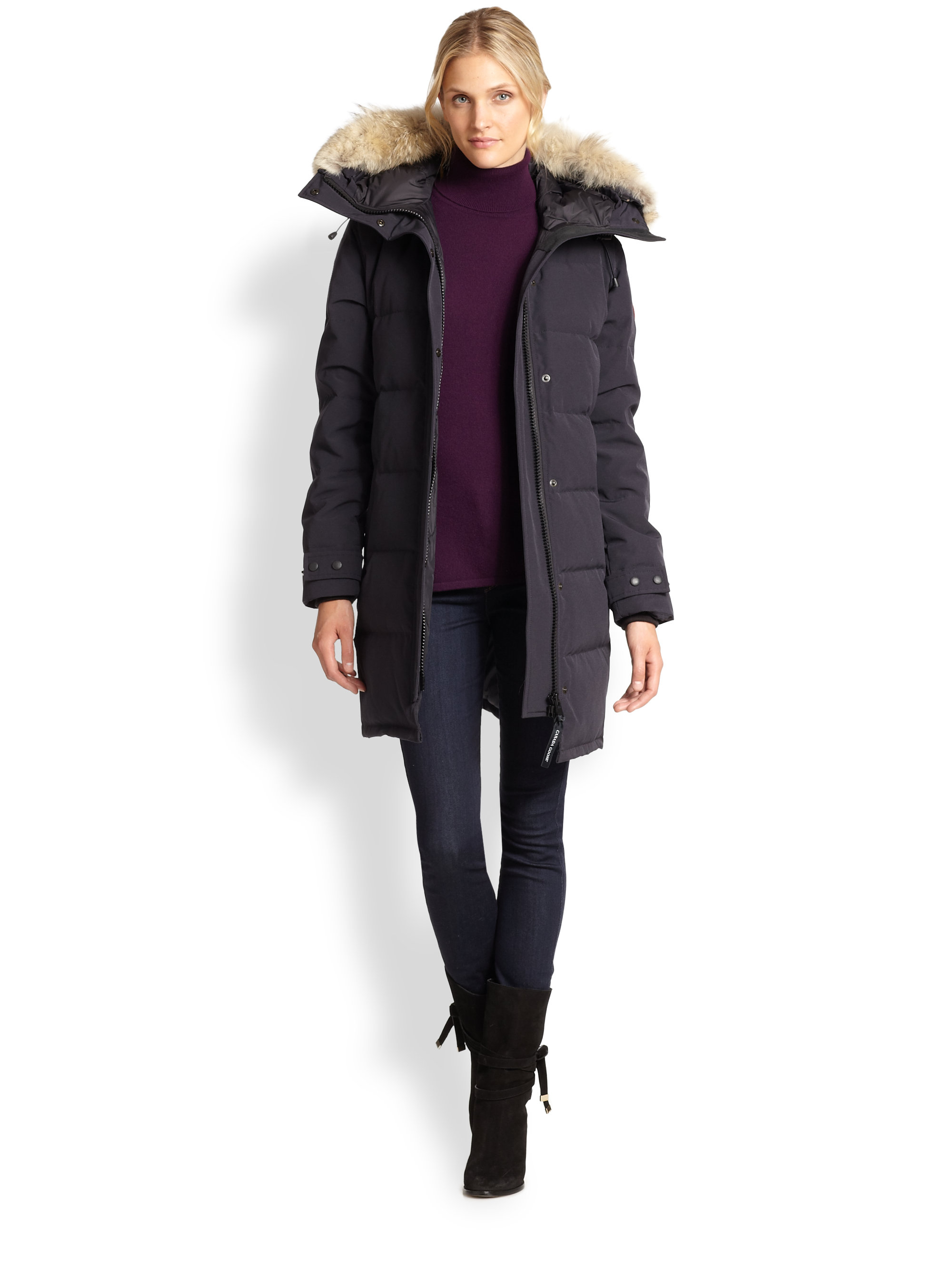 Canada Goose expedition parka replica store - Canada goose Shelburne Parka in Black | Lyst