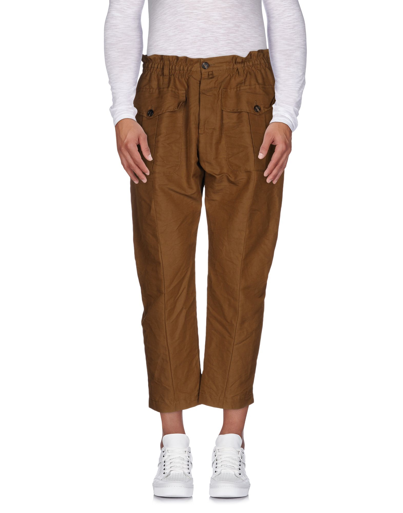 Perfect New Womens Ladies Khaki Green Brown Wide Leg Combat Trousers Cargo