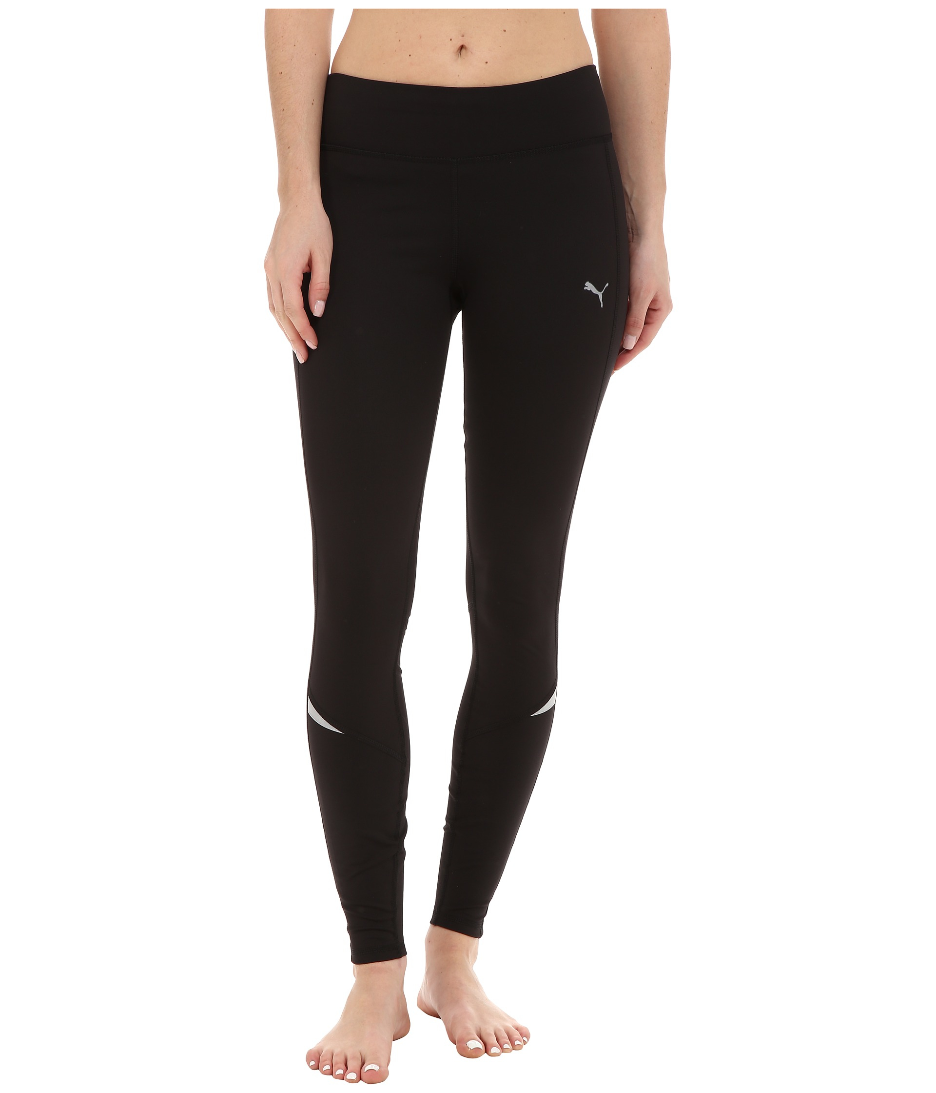 puma power warm tights in black lyst gallery