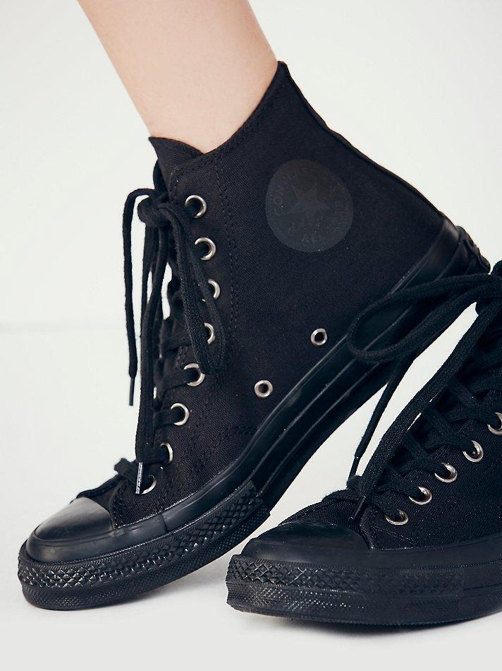 Converse Monochrome Hi Tops in Black - Lyst