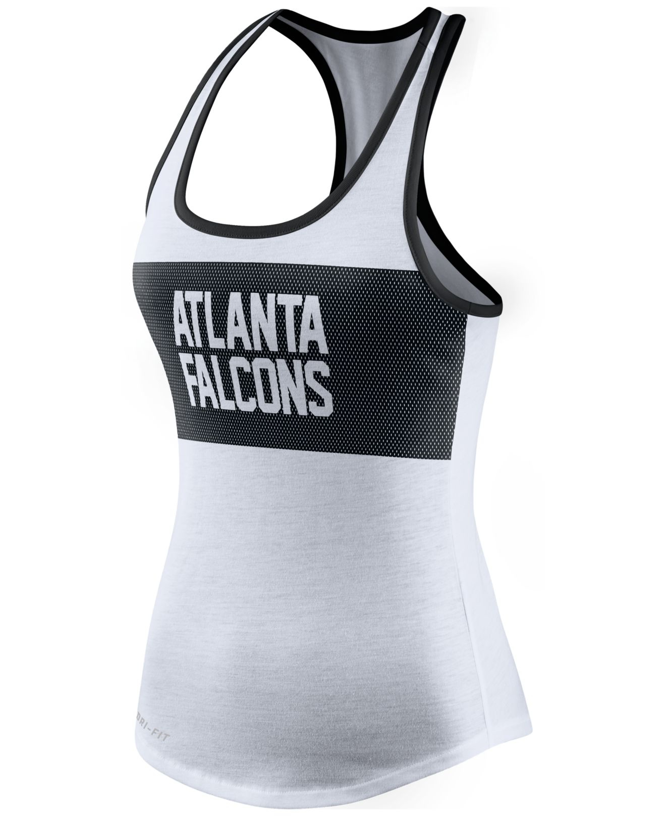 05cf6b8c Lyst - Nike Women's Atlanta Falcons Dri-fit Performance Tank Top in ...
