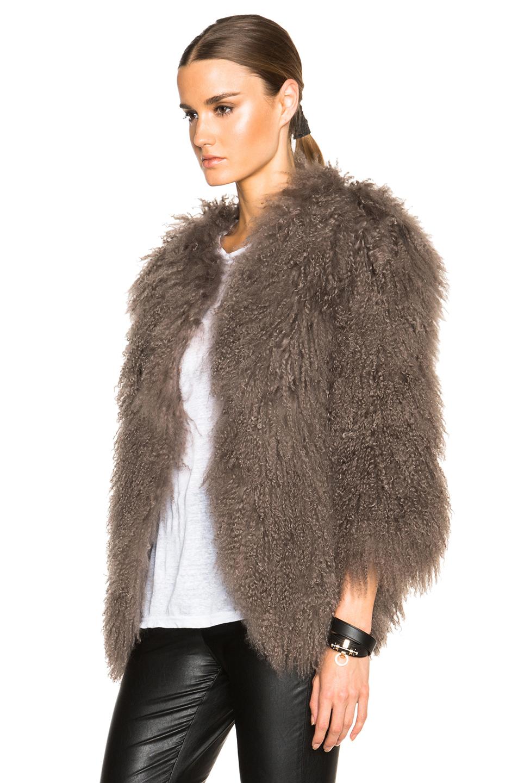 Mongolian Fur Coat | Down Coat