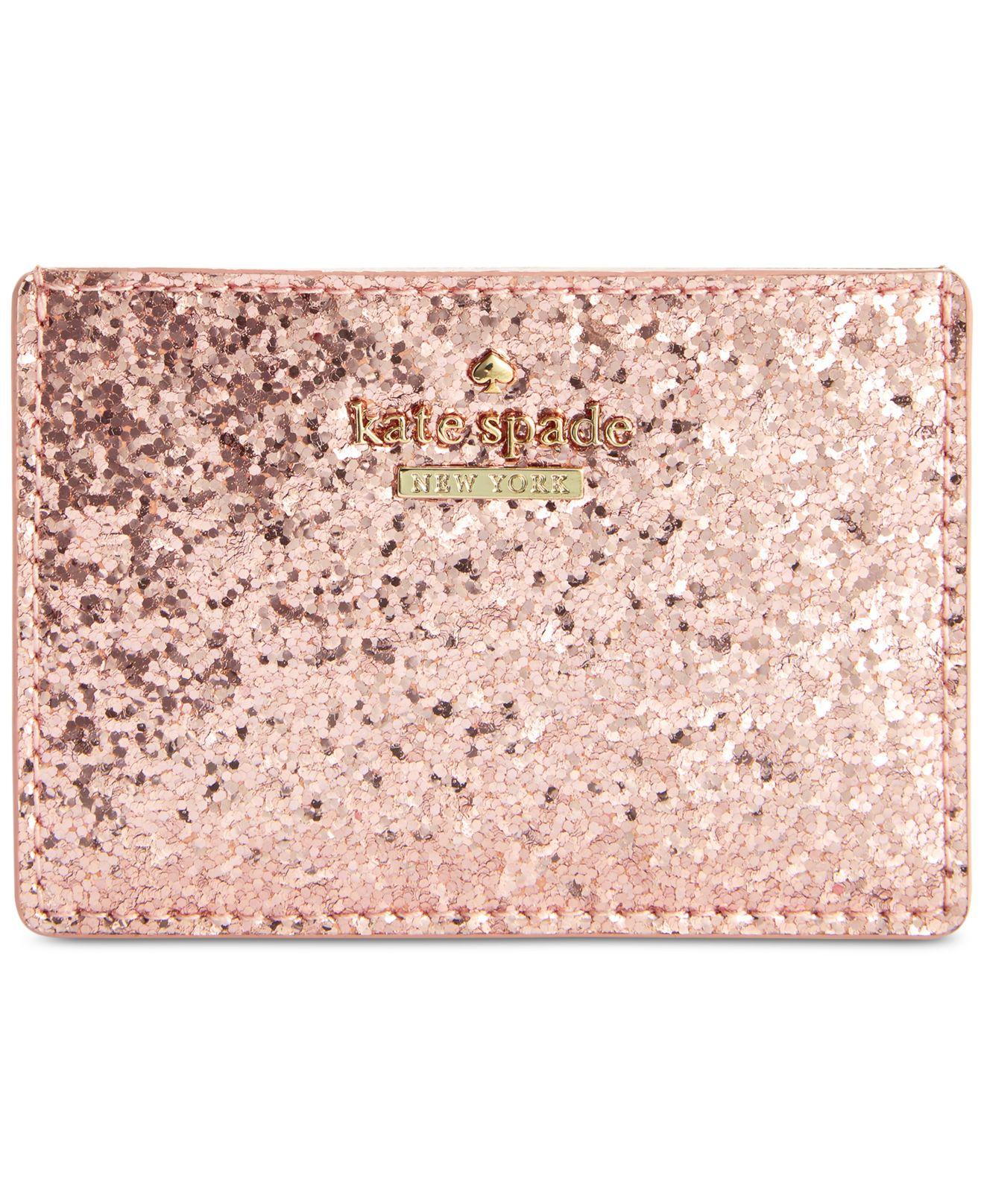 kate spade card holder glitter  Glitter Bug Card Holder