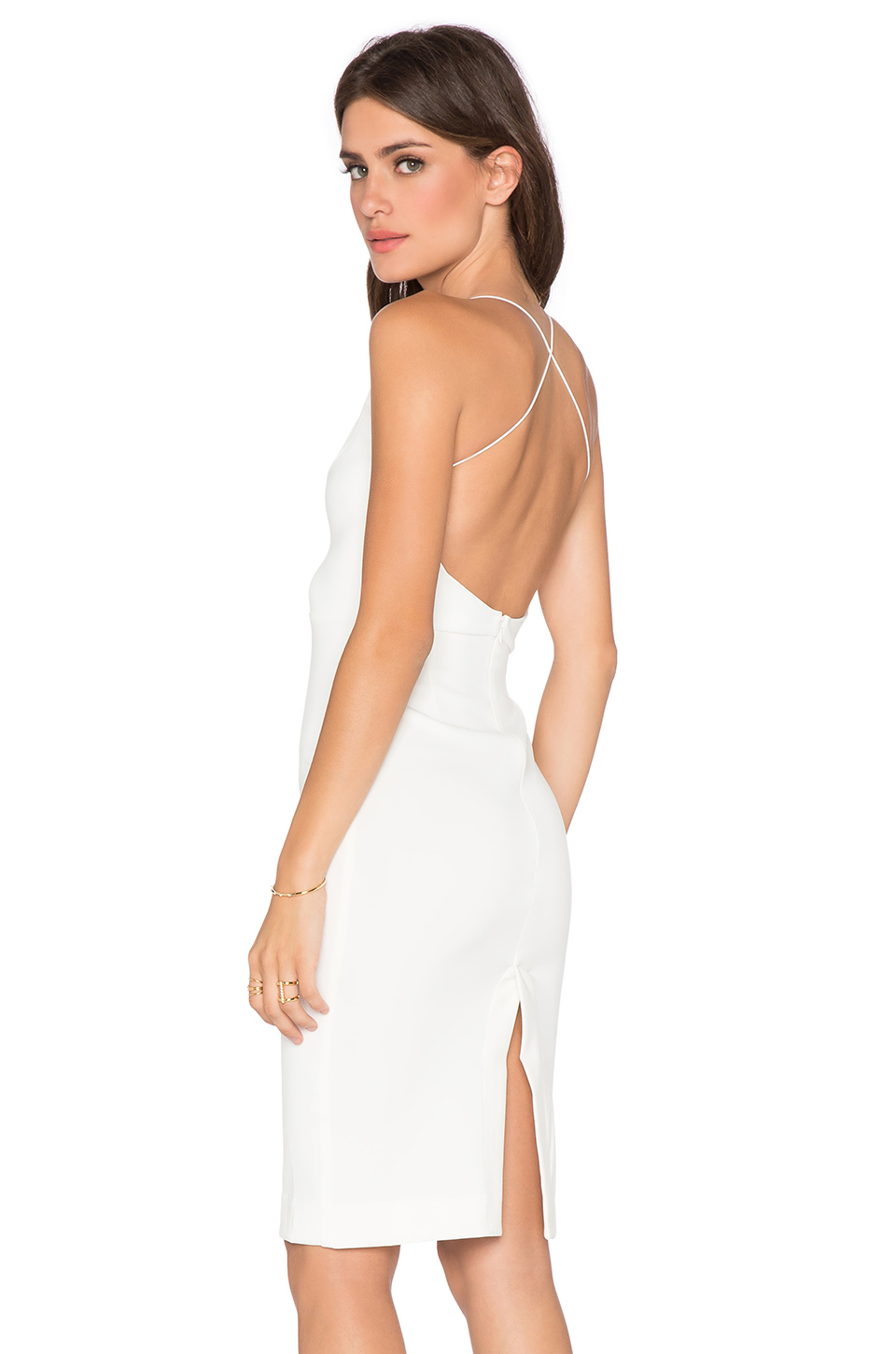 Maurie and eve ella dress white