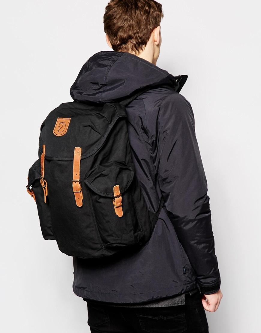 Fjallraven Ovik 20l Backpack In Black For Men Lyst