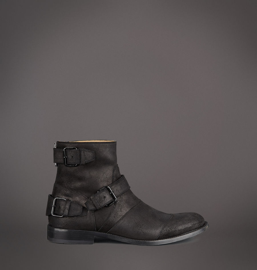 cd252595ec7d9 Lyst - Belstaff Trialmaster Short Boot in Black for Men