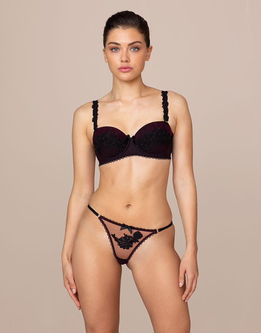 630a60ee15 Agent Provocateur. Women s Lianne Thong Burgundy